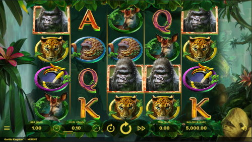 Captura de pantalla Gorilla Kingdom