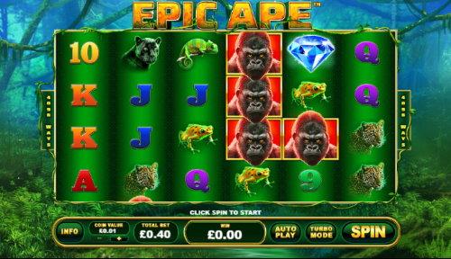 Captura de pantalla de Epic Ape