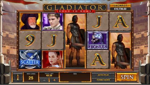 Captura de pantalla Gladiator road to Rome