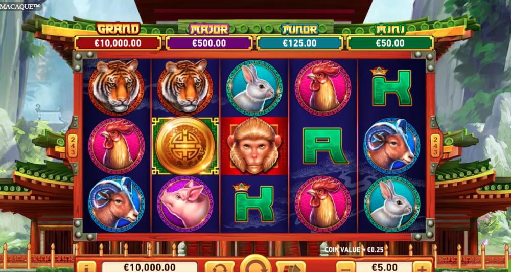 Captura de pantalla Golden Macaque